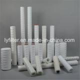 De PP Polipropileno ferida mícron para RO Pre-Treatment do filtro de cartucho