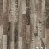 Papier imbibé par mélamine, surface décorative, pressage à chaud sur le panneau en bois
