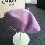 Kundenspezifische verschiedene Farben-Barett-Hut-Dame-Schutzkappe