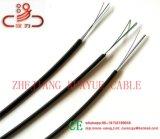 Soltar o cabo de fibra óptica FTTH DO FIO