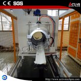 Ligne élevée d'extrusion de pipe de PVC d'Effetive avec la vis jumelle conique