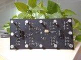 Innenbildschirm der Qualitäts-P4 gebogener flexibler LED professionelle weiche Baugruppe