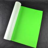 Lavable flexible de alta calidad de neon green telas de PVC para la transferencia de calor