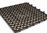 지면을%s 반대로 UV WPC 마루 또는 방수 Decking 도와 또는 나무로 되는 PE 널