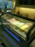 Congelador do indicador do gelado do congelador/do gelado de Commerical com bom preço