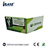 Handgemachte LCD-videoGroßhandelsVisitenkarte mit Cer u. RoHS