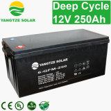 揚子力12V 250ahの太陽電池パネルのための深いサイクル電池