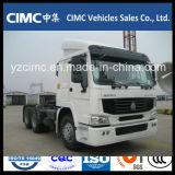 필리핀을%s Sinotruk HOWO 371HP 트랙터 헤드 6X4 트랙터 트럭