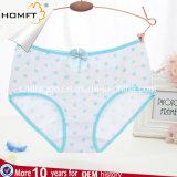 Los puntos del algodón imprimieron la ropa interior linda de las chicas jóvenes de señora Underwear Sweet Cute Design