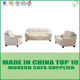 Sofà moderno del cuoio dell'accumulazione della mobilia del salone della tappezzeria