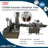 Machine à étiquettes recouvrante remplissante de Ytsp500 Monoblock pour des produits de beauté