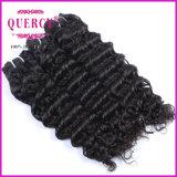 Qualidade de onda profunda 100% virgem vento suave de cabelo humano