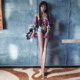 Jouet de sexe de silicones classé par vie avec les poupées réelles squelettiques d'amour de sensation en métal
