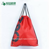 Kundenspezifischer Polyester600d drawstring-Beutel/Drawstring-Rucksack