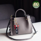Sacs à main de mode de sac d'épaule de Madame Bag New Design Woman de cuir véritable de Guangzhou Supllier Emg5237