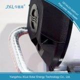 Calefator de água solar Non-Pressurized de revestimento cromado preto da placa lisa de Jxl