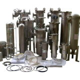 Wärme-Druckwasser säumt Filtertüte/flüssigen Beutelfilter