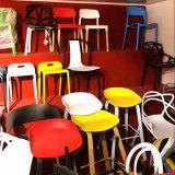 容易な食堂の台所寝室のラウンジのための足を搭載する椅子のシェルの椅子はきれいな白をアセンブルする