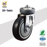 Bonne qualité 5'' la tige de ressort de TPR panier roue pivotante