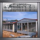 A instalação rápida casa modular pré-fabricada personalizada para o armazém