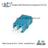 Adaptador de Fibre Channel Duplex LC / PC para Painel de Fibra Óptica