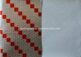 La couleur rouge coussin imprimé la feuille de papier personnalisé