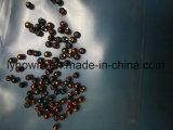 Vários Anodizados preto, violeta, verde, rosa, castanho, vermelho cordões de Castelo de tungsténio