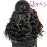 OEMの製造業者自然なカラーバージンボディ波のブラジルの毛の束