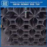 Vaporizador de aquecimento de ar de oxigênio líquido árgon, azoto CO2 LNG