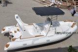Barco inflável do bote da melhor casca rígida de Liya 19FT/5.8m
