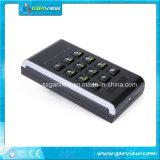 Достигните кнопочной панели с номерным знаком для отверстия опознавания
