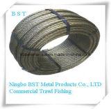 商業漁業(6*19+FC)のための鋼線ロープ