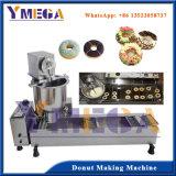 De volledige Machine van de Doughnut van het Gebraden gerecht van het Roestvrij staal met 3 Verschillende Grootte Donuts