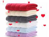 柔らかい綿機械洗濯できる特大高いGSM 32sの浴室タオル