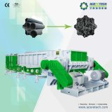 HDPE/PVC Rohr-einzelner Welle-Reißwolf/Zerkleinerungsmaschine-/Granulierer-Maschine