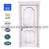 Peint en blanc de style occidental porte en bois massif, couleur blanche