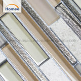 高品質の壁の装飾の石のアルミニウム混合されたガラスモザイク・タイル