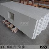 Kingkonree Surface solide une seule pièce Salle de Bain lavabo et un comptoir