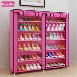 Armoire de racks de chaussures Chaussures de grande capacité de stockage de mobilier de maison DIY Rack simple chaussure Portable (FS-03G)