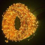 Indicatori luminosi di rame della stringa del LED con l'unità dell'adattatore per la decorazione di natale
