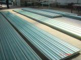 El material para techos acanalado de la fibra de vidrio del panel del material para techos de GRP FRP/del vidrio de fibra artesona las hojas