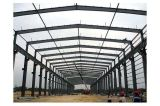 Colores de la estructura de acero prefabricados Taller de edificios de uso