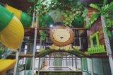 Спортивная площадка детей крытая с огромной ямой шарика
