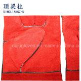 Безопасности руки 14 дюймов перчатки заварки красной кожаный в Китае