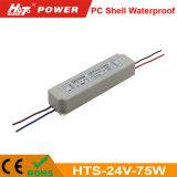 alimentazione elettrica impermeabile delle coperture LED del PC di 24V 75W con Ce/RoHS