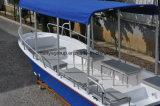 Liya 5.8m barco de fibra de vidrio en Taxi Acuático Barco Barco de pesca de palangre