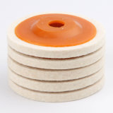 "Factory Directly Supply 8 "" Wool Buffing Pad Because Detailing Polishing Wheels"