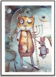 Pintura del arte de la lona de arte de la decoración de la pared de la fantasía para el hogar/el sitio de huésped
