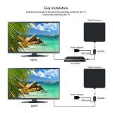 Antenna dell'interno di Digitahi TV TV di frequenza ultraelevata di prezzi di fabbrica dell'antenna piana di VHF HD TV DTV per HDTV 1080P