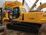 Máquina escavadora da esteira rolante de KOMATSU PC220-6 das boas condições para a venda